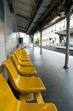 Metropolitan station in Paris Stock Photos
