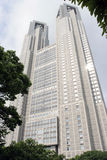 Metropolitan Towers in Tokyo. Seen from below Stock Images