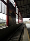 Metropolitana области Buena Vista DF Мехико Ecatepec ligero Tren стоковое изображение rf