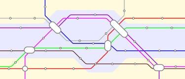 Metropolitana royalty illustrazione gratis