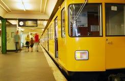 Metropolitana Berlino Fotografie Stock