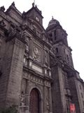 Metropolitana de México di Catedral immagini stock