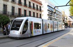 Metropolitana de Sevilla nelle vie di Siviglia, Spagna fotografie stock