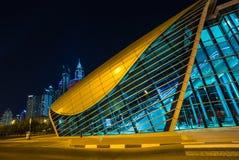 Metropolitana del Dubai come rete completamente automatizzata della metropolitana più lunga del mondo (75 Immagini Stock Libere da Diritti