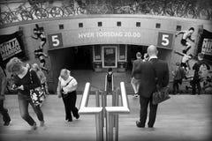 Metropolitana del nytorv di Kongens Fotografia Stock Libera da Diritti