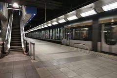 Metropolitana di Bruxelles Immagine Stock Libera da Diritti