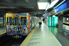 Metropolitana di Buenos Aires. Fotografia Stock