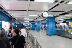 Metropolitana di Guangzhou fotografia stock