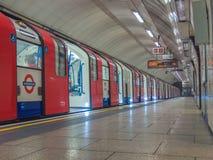 Metropolitana di Londra Fotografie Stock Libere da Diritti