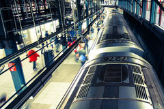 Metropolitana di new york fotografia stock