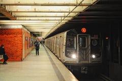 Metropolitana di NYC Immagini Stock