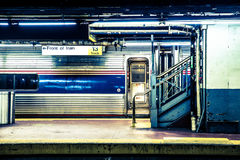 Metropolitana di NYC Fotografia Stock