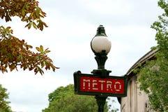 Metropolitana di Parigi Fotografia Stock Libera da Diritti
