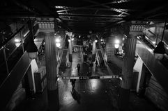 Metropolitana di Parigi fotografia stock