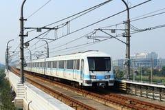 Metropolitana di Schang-Hai Fotografia Stock Libera da Diritti