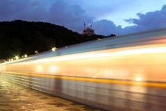 Metropolitana di sera Fotografia Stock Libera da Diritti