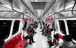 Metropolitana di Taksim sotterranea Fotografia Stock Libera da Diritti