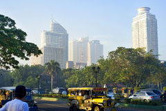 Metropolitana Manila Fotografia Stock Libera da Diritti