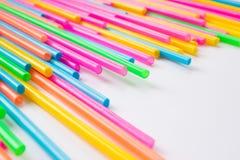 Metropolitana o Straw Background di plastica Immagini Stock