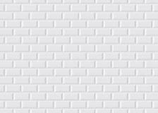 Metropolitana parigina coperta di tegoli bianca Immagine Stock