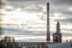 Metropolitane della fabbrica Fotografie Stock