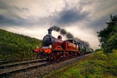 'Metropolitano 01' tren del vapor imagen de archivo
