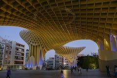 Metropolparasol in Sevilla Royalty-vrije Stock Afbeeldingen