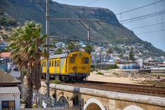 Train Cape toen stock image
