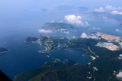 9000 metros de paisaje de la altitud Foto de archivo libre de regalías