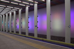 metrostation Ρότερνταμ Στοκ Εικόνες