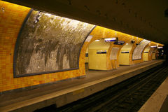 Metrostation stockbilder