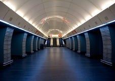 Metrostation lizenzfreie stockfotografie