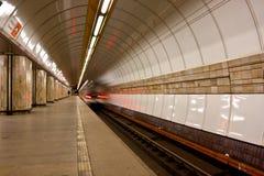 Metrostation Lizenzfreie Stockfotos