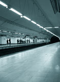 metrostation Royaltyfria Foton