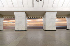 Metrostation Chekhovskaya in Moskau, Russland Es war in 08 geöffnet 11 1983 Stockfoto