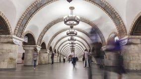 Metrostation herein stock video