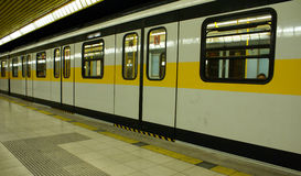 Metrostation - Milaan   Royalty-vrije Stock Afbeelding