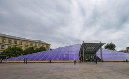 Metrostation, Panoramablick Stockbild