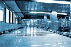 Metrostationinnenraum Lizenzfreies Stockfoto
