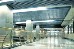 Metrostationinnenraum Stockfotos
