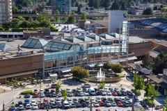 Metrotownwandelgalerij in Burnaby, Vancouver, tijdens dag royalty-vrije stock foto