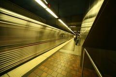 Metrotrain Photographie stock