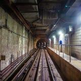 Metrotunnel stock afbeelding