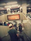 Metroverkeer Stock Foto