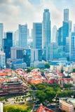 Metrópoli de Singapur Fotografía de archivo