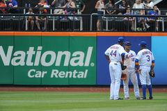 Mets Outfield Stock Photography