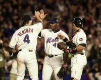 Mets vince! fotografia stock libera da diritti