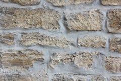 Metselwerk van de oude grijze kalksteentextuur Royalty-vrije Stock Afbeelding
