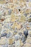 Metselwerk van oude stenen en bakstenen Oude steenmuur Mooie achtergrond Royalty-vrije Stock Afbeeldingen