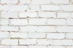 Metselwerk, wit bakstenen muurclose-up Stock Foto
